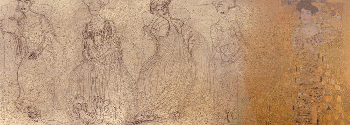 Эскизы к картине Золотая Адель