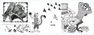 Птицелюб по структурному гороскопу - кот Нафик и замученный Главред