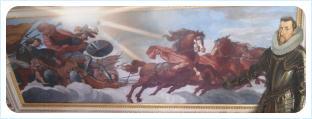 Фердинанд Второй останавливает колесницу Альбрехта фон Валленштейна