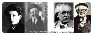 Жан Пиаже (Jean Piaget)  разные возраста