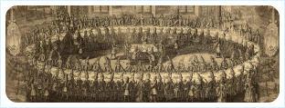 Свадьба Петра I Великого и Катерины Алексеевны в 1712 году